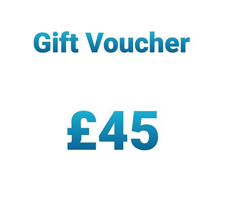 Gift Voucher - £45
