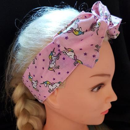 Pink Unicorns - Wired Hair Tie