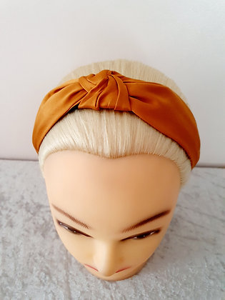 Silk Rust Head Band
