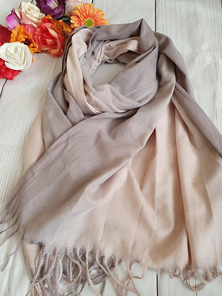 Two Tone Super Soft Scarf