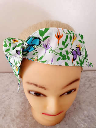 Butterflies Wired Hair Tie
