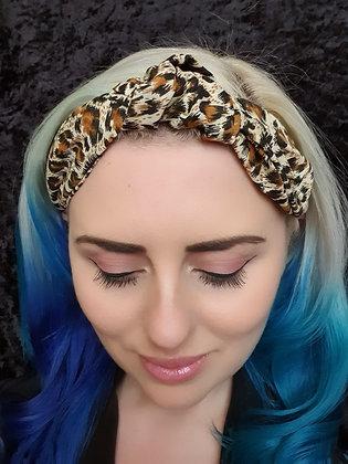 Leopard Print Head Band