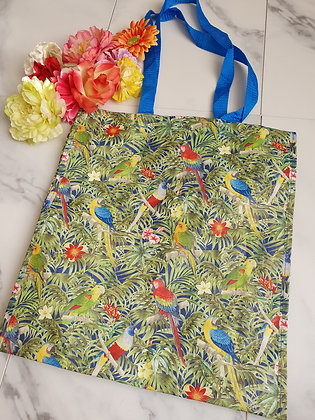 Parrot Sass and Belle Shopper Bag