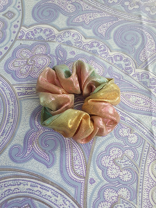 Hand Made Scrunchie - Dusty Pink Mermaid