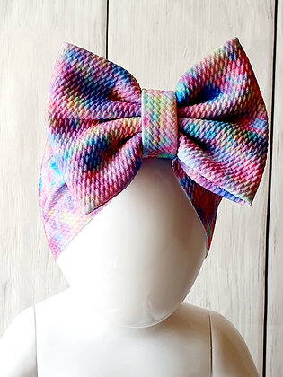 Mix Tie Dye Head Wrap