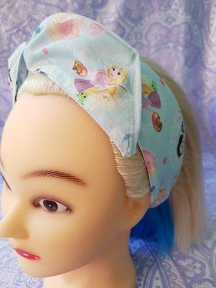 Princesses Blue - Wired Hair Tie