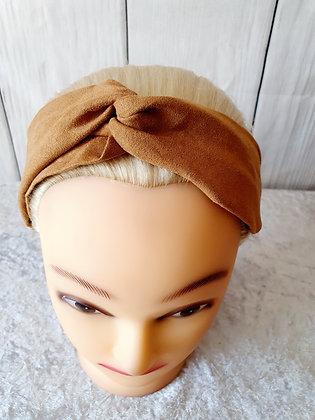 Beige Elasticated Head Band