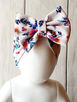 Ditzy Floral Head Wrap