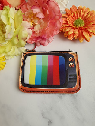Retro TV Coin Purse