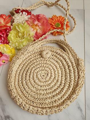 Woven Bag Cream