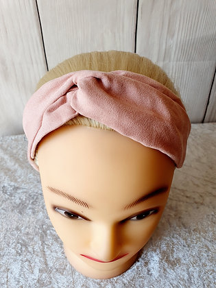 Pink Elasticated Head Band