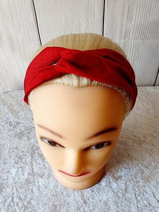 Red Elasticated Head Band