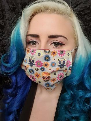 Candy Skulls Cream Face Mask