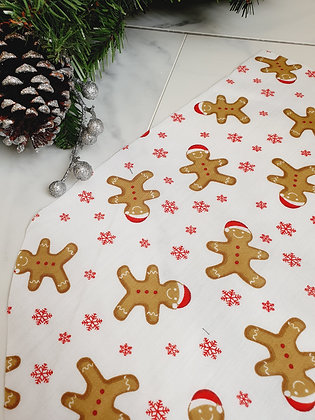 Gingerbread Personalised Luxury Christmas Stocking