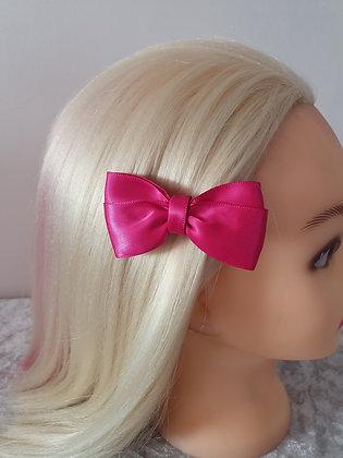Bright Pink Hair Bow