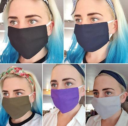 Plain Face Mask