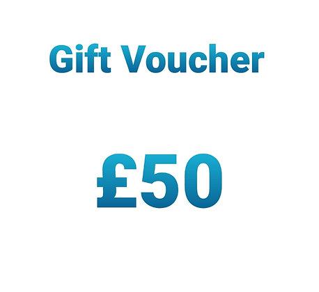 Gift Voucher - £50