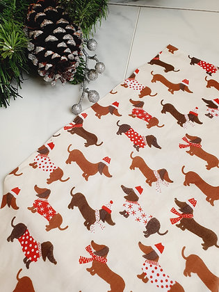 Dachshunds Personalised Luxury Christmas Stocking