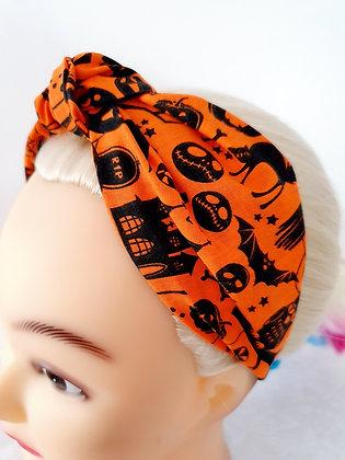 Nightmare on Orange Head Band