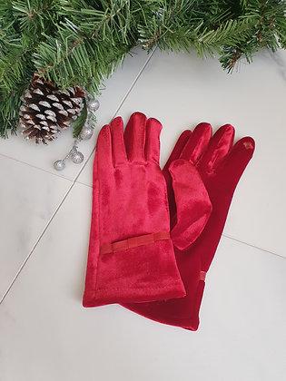 Red Velvet Gloves