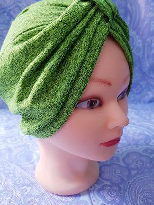 Green Chemo Cap Turban