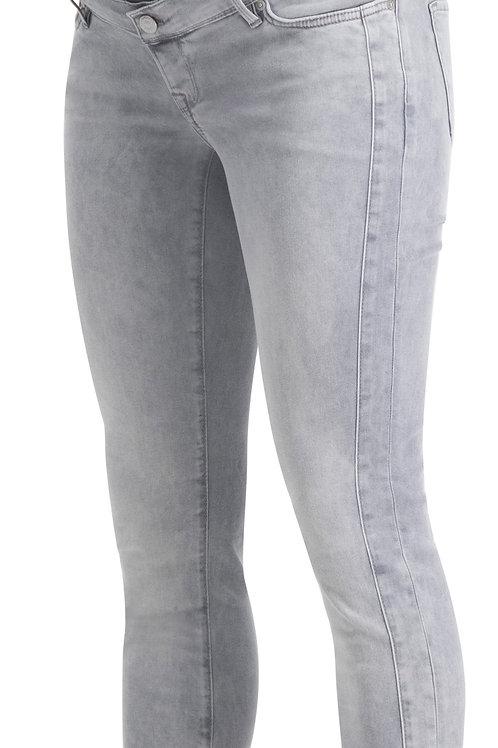 Skinny Umstandsjeans Avi Aged Grey