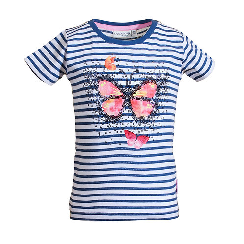 T-Shirt Awesome Stripes Sequin