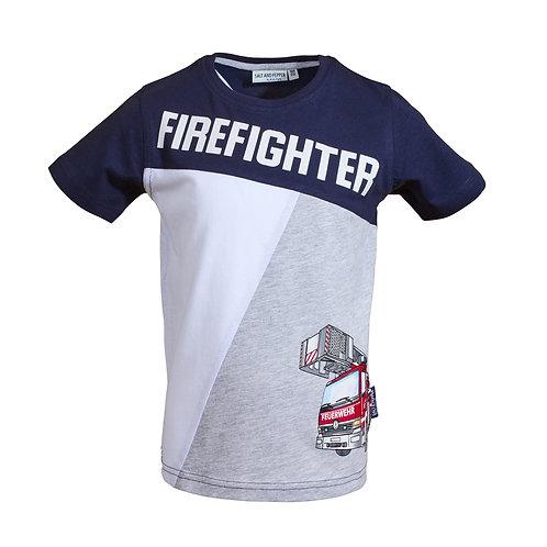 T-Shirt Rescue Firefighter pri