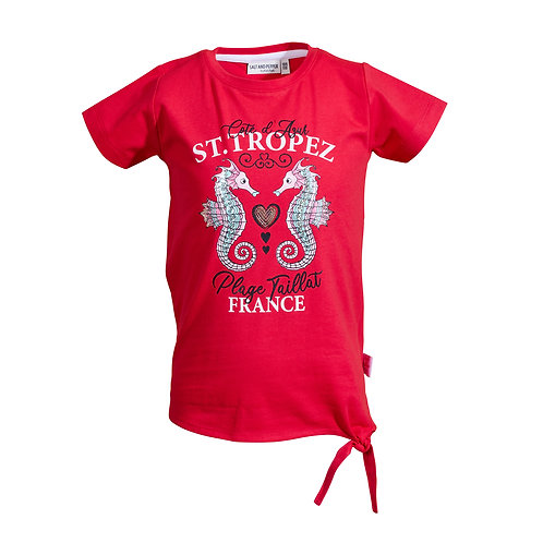 T-Shirt Voyage Uni St.Tropez