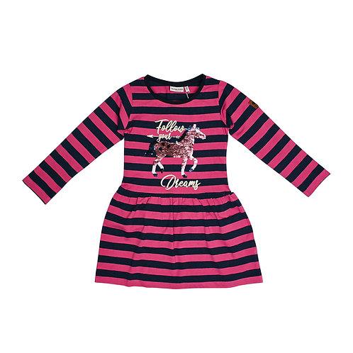 Dress Royal stripe Wendepaill