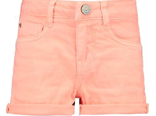 Sanna 591 Slim Denim Shorts - Orange mit Slim Fit