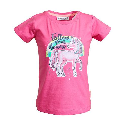 T-Shirt Dreams Uni Einhorn