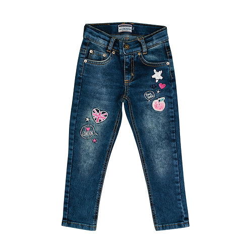 Jeans Stay Cool Pailletten