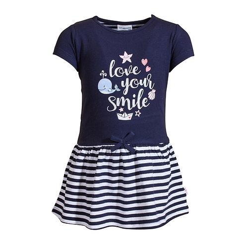 Dress Seaside Glitter Print