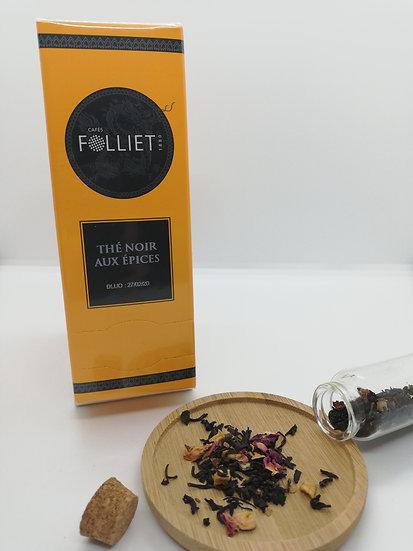 Thé Noir aux Épices - boîte 24 sachets -