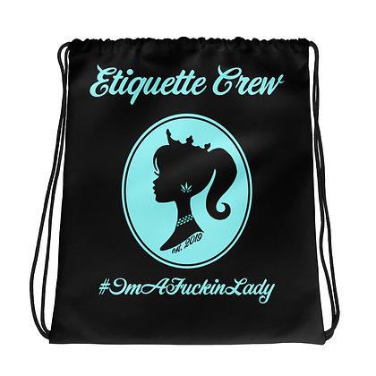 E.C Drawstring bag