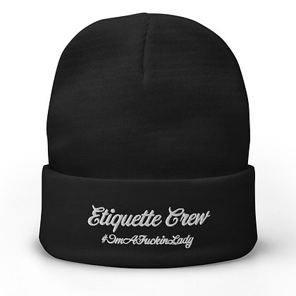 EC Embroidered Beanie