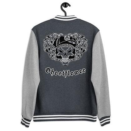 Ghostflower Letterman Jacket