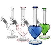 Blue Heart Glass