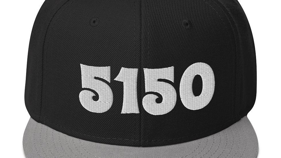 5150 Snapback Hat