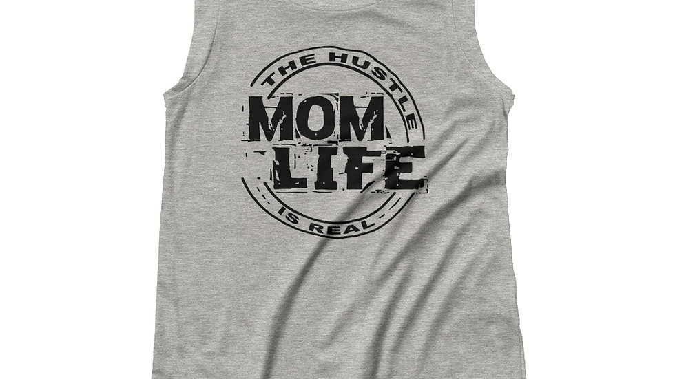 Mom Life Cap Sleeve T-Shirt