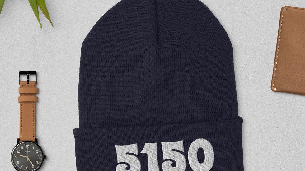 5150 Cuffed Beanie