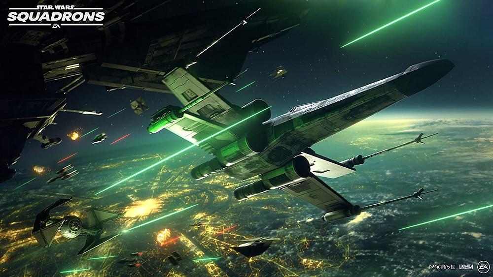 Star Wars Squadrons ab sofort bei Amazon.de vorbestellbar. Bild: EA