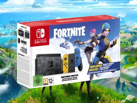 Nintendo Switch Fortnite Special Edition - Vorbestellung auf Amazon.de