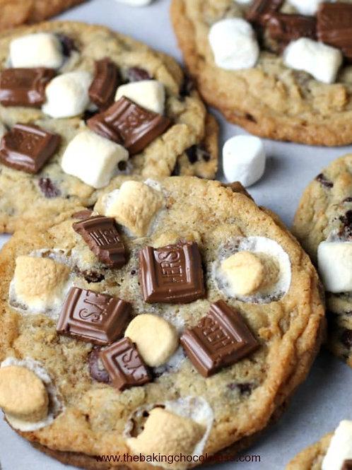 One Dozen S'mores Cookies