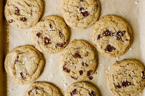 Whisky Brown Butter Chocolate Chip Cookies