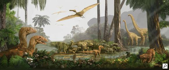 Cretaceous Coastal Environment