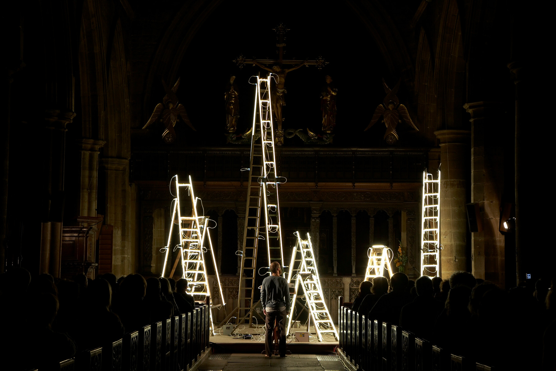 Disappearing Paths @ Wakefield Cathedral