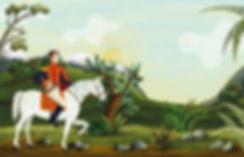 Simón Bolívar ilustración