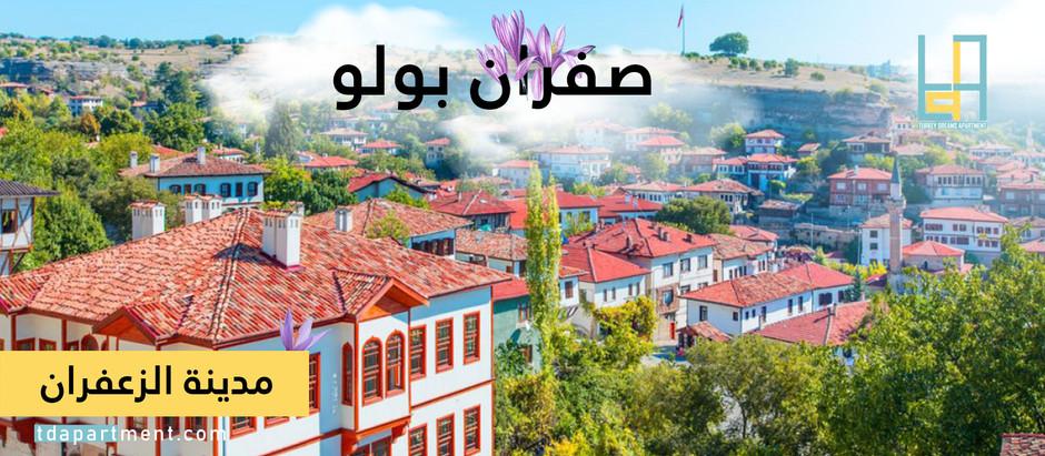 مدينة الزعفران في تركيا